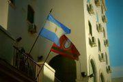 Bandera de Argentina y Salta
