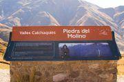 cartel ´piedra del molino 180x120 - Cachi Tour