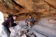 Cuevas incas pintadas