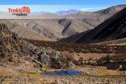 laguna andes trekking 180x120 - Trekking a las Nubes