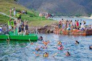 nadando dique cabra corral 180x120 - Paseo por las Islas