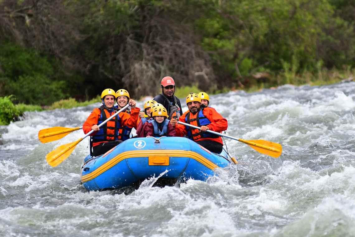 Rafting en el río Juramento