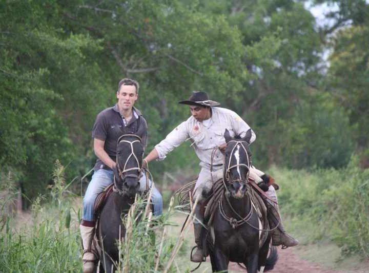 Aprendiendo a cabalgar