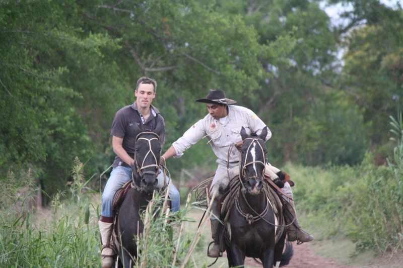 cabalgata chicoana - Horseback Riding Half day with BBQ and Transfer